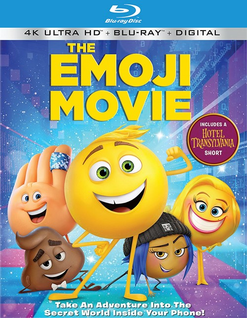 Emoji Movie, The (4k Ultra HD + Blu-ray + UltraViolet)