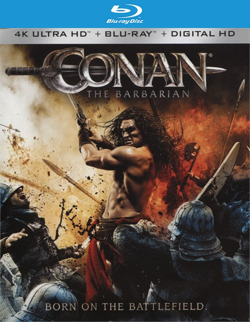 Conan: The Barbarian (4k Ultra HD + Blu-ray + UltraViolet)