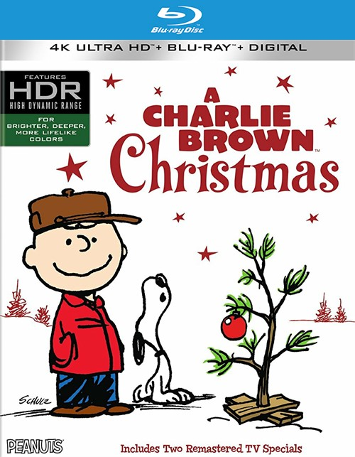 Charlie Brown Christmas, A (4k Ultra HD + Blu-ray + UltraViolet)