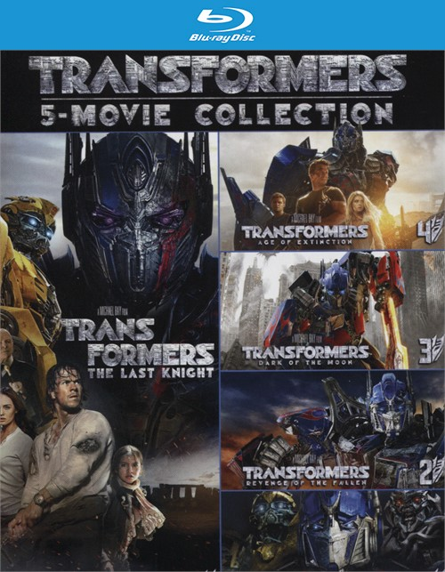 Transformers: Five-Movie Collection (Blu-ray + Digital HD)
