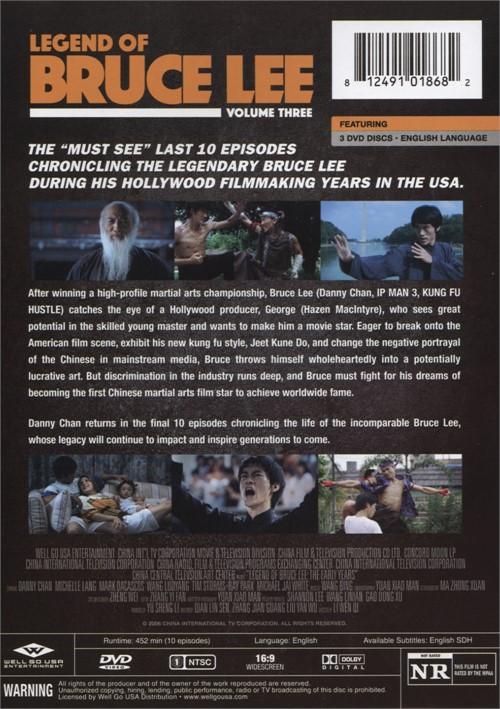 legend of bruce lee the  volume three  dvd 2017