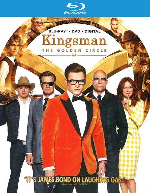 Kingsman: The Golden Circle (Blu-ray + DVD + Digital HD)