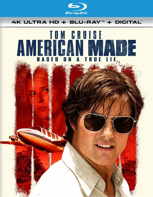 American Made (4k Ultra HD + Blu-ray + UltraViolet)