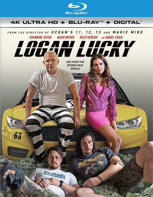 Logan Lucky (4k Ultra HD + Blu-ray + UltraViolet)