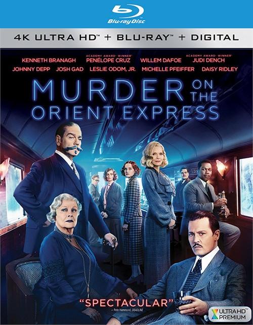 Murder on the Orient Express (4k Ultra HD + Blu-ray + UltraViolet)