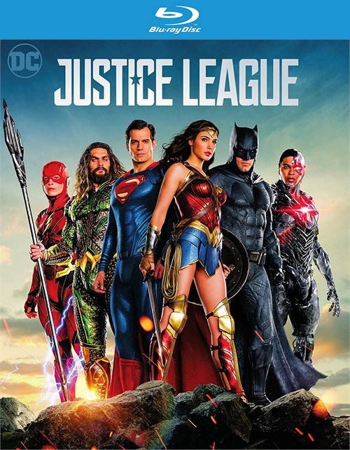 Justice League (Blu-ray + DVD + Digital HD)