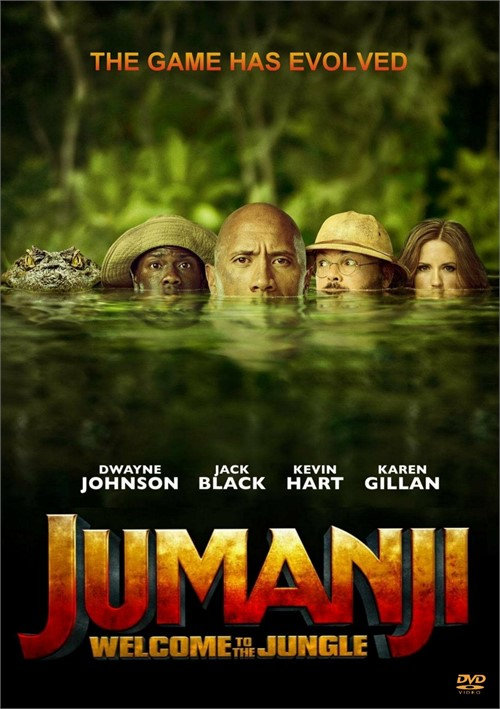Jumanji: Welcome to the Jungle (DVD + Digital HD)