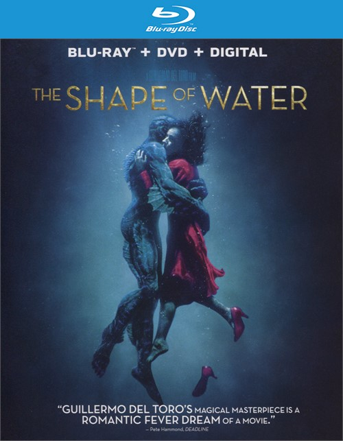 Shape of Water, The (Blu-ray + DVD + Digital HD)