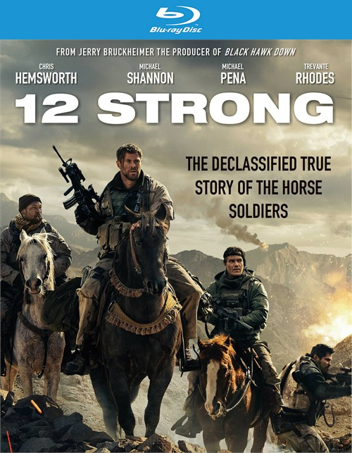 12 Strong (Blu-ray + DVD + Digital HD Combo)