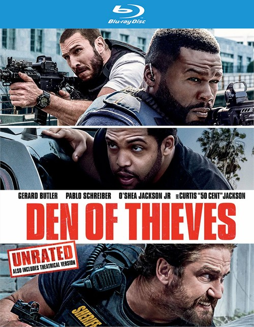 Den of Thieves (Blu-ray + DVD + Digital HD)