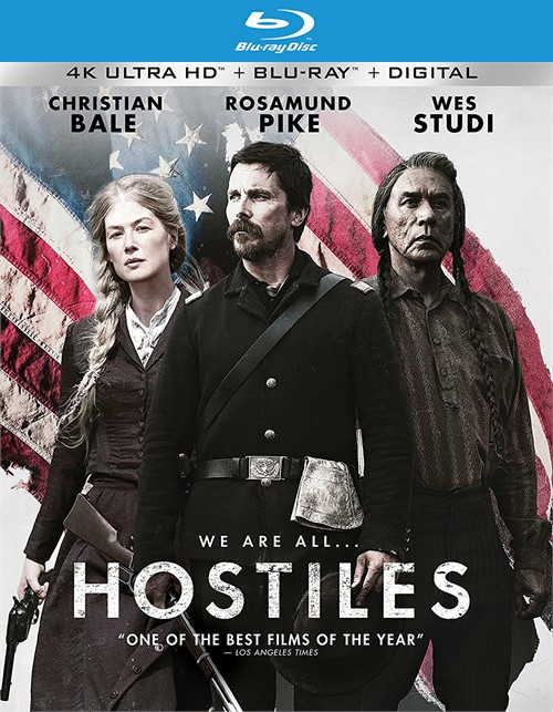 Hostiles (4k Ultra HD + Blu-ray + UltraViolet)