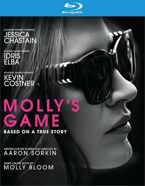 Mollys Game (Blu-ray + DVD + Digital HD)