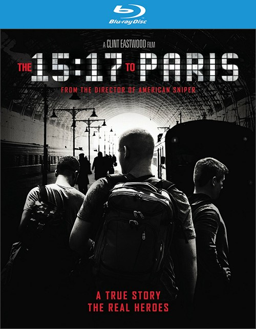 15:17 to Paris, The (Blu-ray + DVD + Digital HD)