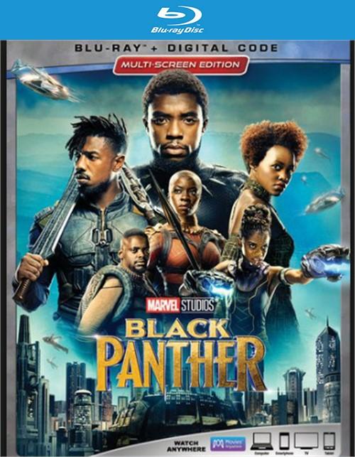 Black Panther (Blu-ray + DVD + Digital HD)