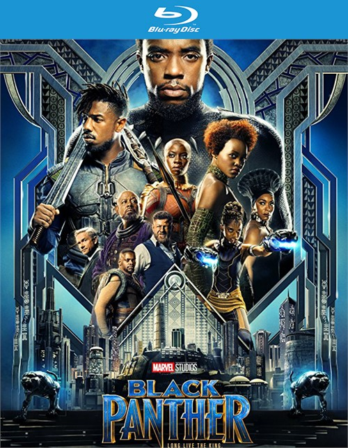 Black Panther (4k Ultra HD + Blu-ray + UltraViolet)