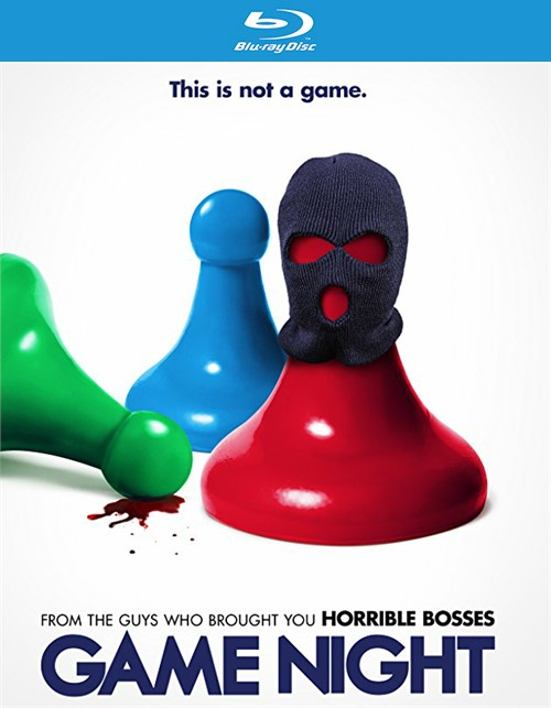 Game Night (Blu-ray + DVD + Digital HD)