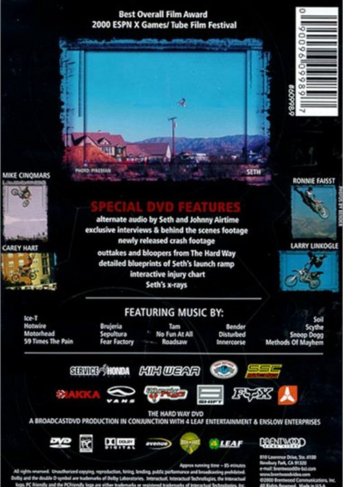 Seth The Hard Way (DVD 2000) | DVD Empire