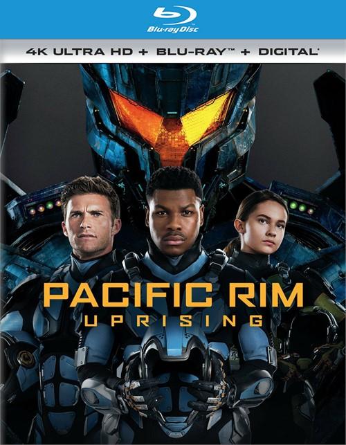 Pacific Rim: Uprising (4k Ultra HD + Blu-ray + UltraViolet)
