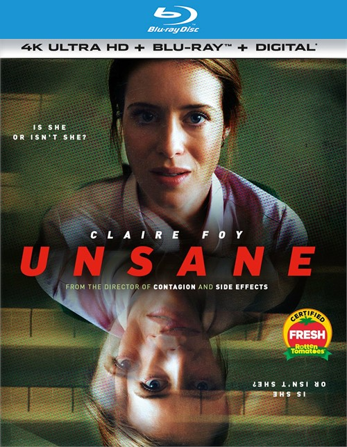Unsane (4k Ultra HD + Blu-ray + UltraViolet)