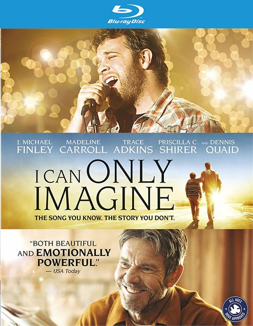 I Can Only Imagine (Blu-ray + DVD + Digital HD)