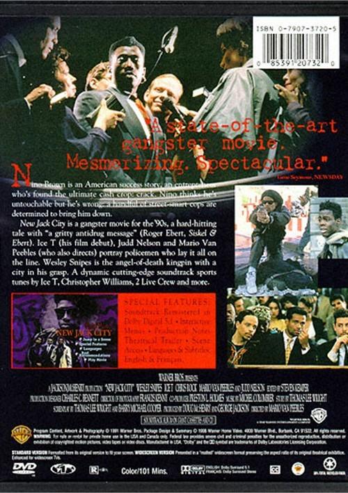 New Jack City Dvd 1991 Dvd Empire