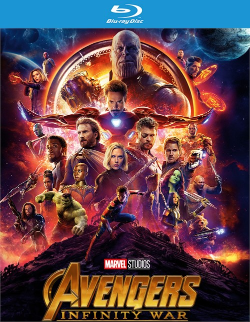 Avengers: Infinity War (Blu-ray + Digital HD)