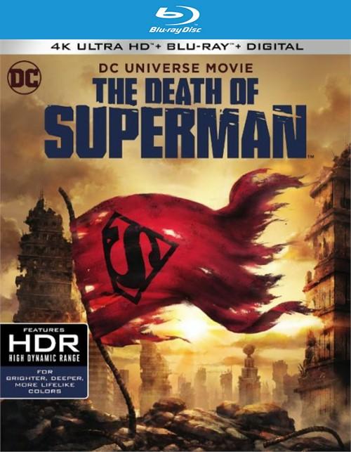 Death Of Superman, The (4k Ultra HD + Blu-ray + UltraViolet)