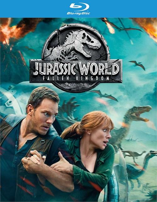 Jurassic World: Fallen Kingdom ( Blu-Ray + Dvd + Digital)