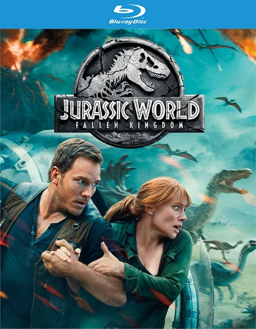 Jurassic World: Fallen Kingdom (4K Ultra HD + Blu-Ray + Digital)