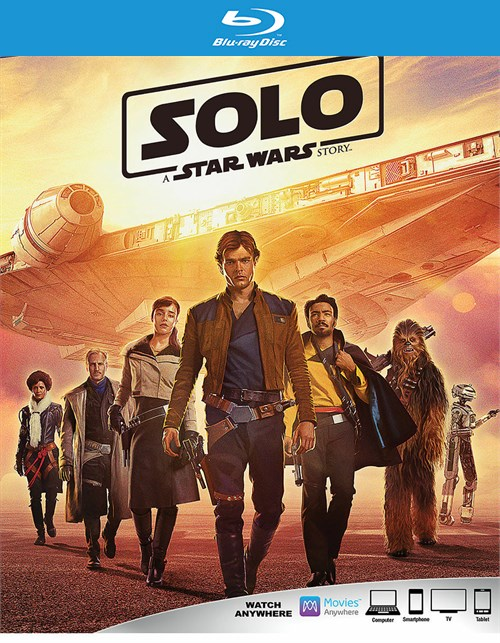Solo: A Star Wars Story (Blu-ray + Digital HD)
