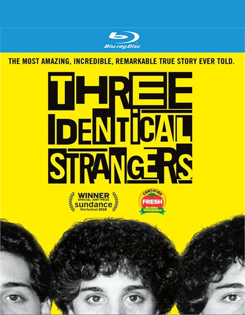 Three Identical Strangers (Blu-ray+Digital)