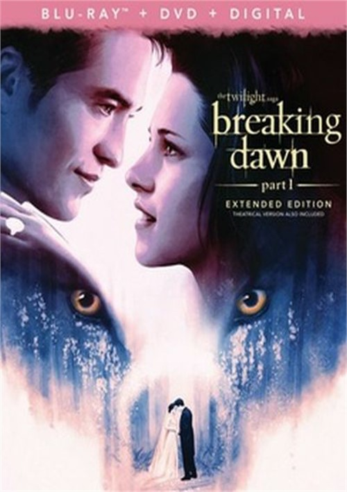 Twilight - Breaking Dawn - Part 1 (BR/DVD/W-Digital)