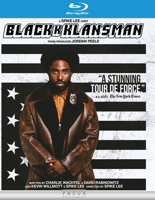 BlacKkKlansman (4KUHD/Blu-ray/Digital)