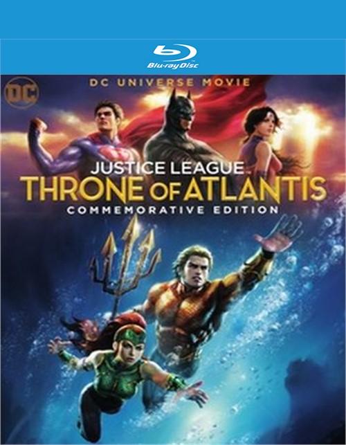 Justice League - Throne of Atlantis - Commemorative Edition (BR/4K/DIG/2DISC)