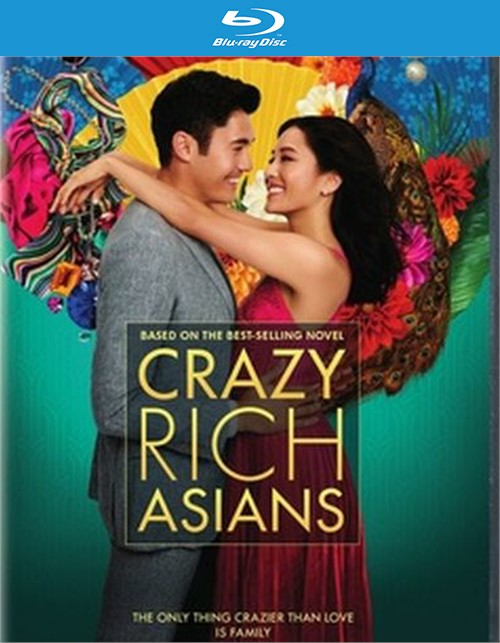 Crazy Rich Asians (BR/DVD Combo/Digital HD/2DISC)