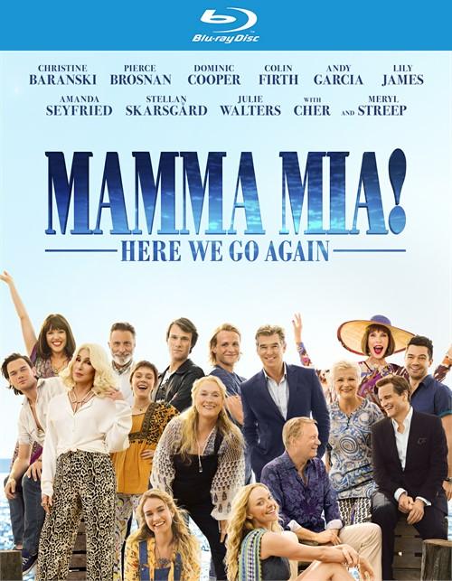 Mamma Mia - Here We Go Again (BLU-RAY/DVD/DIGITAL)