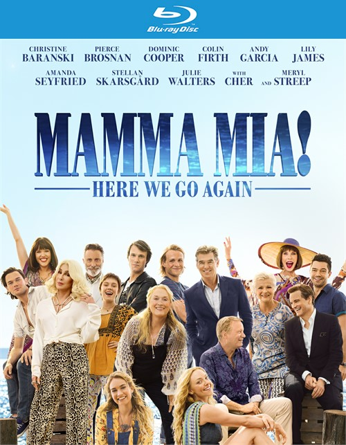 Mamma Mia - Here We Go Again (4KUHD/BLU-RAY/DIGITAL)