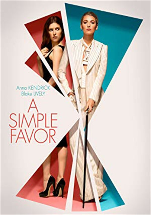 A Simple Favor (DVD)(ENG W/SPAN-SUB)