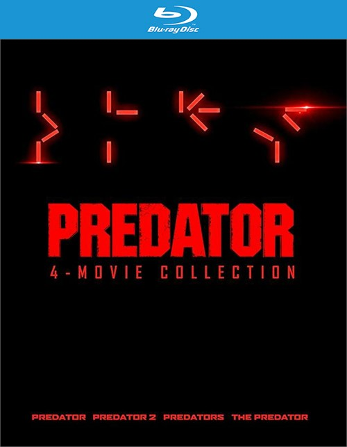 Predator 4 Film Collection (4K-UHD/BR/8DISCS/4FILMS)