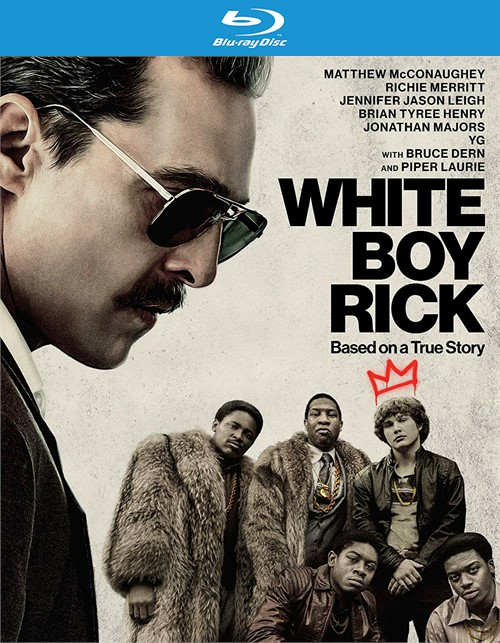 White Boy Rick (BLU RAY W/DIGITAL)