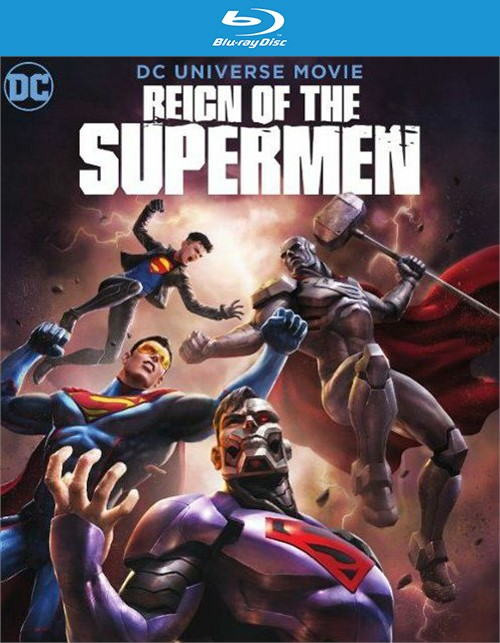 Reign of the Supermen (BR/4KUHD/DIG COMBO/2 DISC)