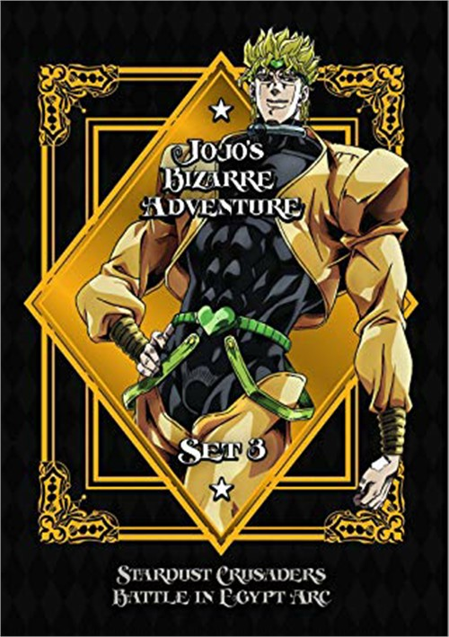 JoJos Bizarre Adventure Set 3 - Stardust C-Battle in Egypt