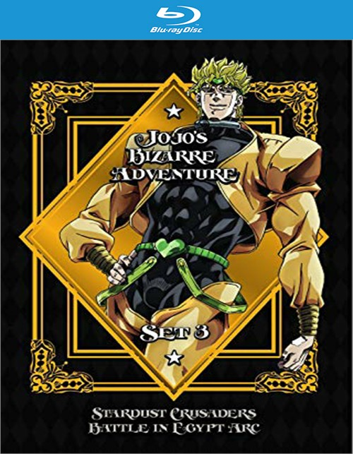 JoJos Bizarre Adventure Set 3 - Stardust C-Battle in Egypt (BR/4DISC)