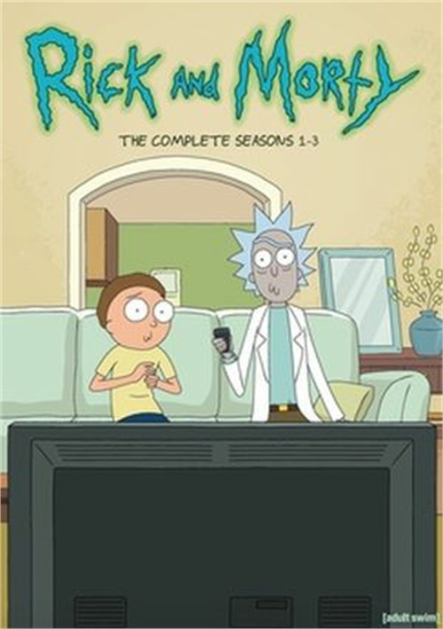 Rick and Morty - Complete 1st-3rd Seasons (DVD)