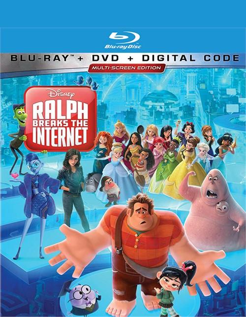 Ralph Breaks the Internet: Wreck-It Ralph 2 (Blu-ray/W-Digital)