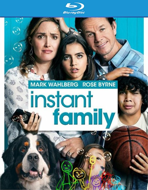 Instant Family (Blu-ray/DVD/Digital/2 DISC)