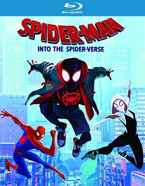 Spider-man: Into the Spider-verse (4K/BR/W-DIGITAL)