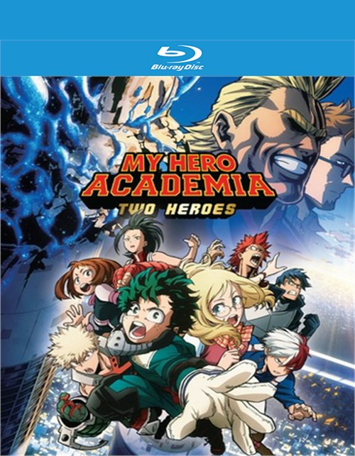 My Hero Academia - Two Heroes (BLU-RAY/DVD COMBO/2DISC/FUN DIGITAL)