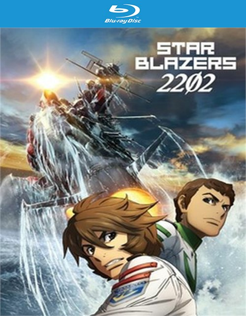 Star Blazers - Space Battleship Yamato 2202 - Part 1 (BLU-RAY/DVD/LE/4 DISC)
