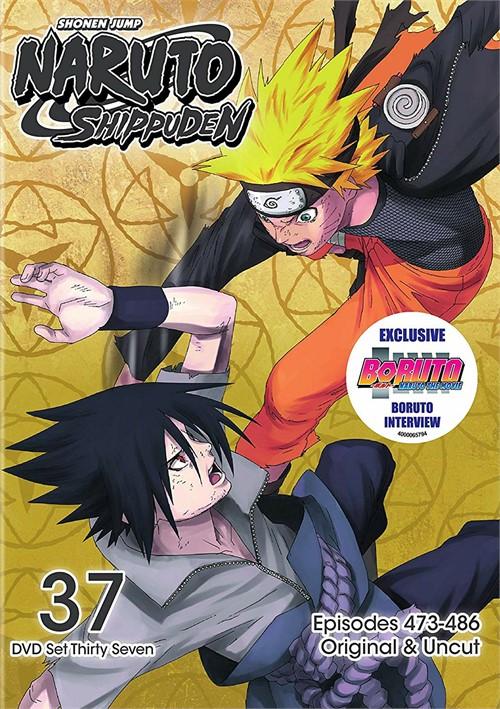 Naruto Shippuden Box Set 37